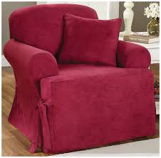 Sure Fit Stretch T Cushion Sofa Slipcover by Amazon Com Sure Fit Soft Suede T Cushion Chair Slipcover