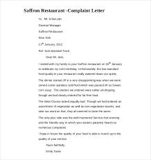 plaint letters sample Resumessanklinfire