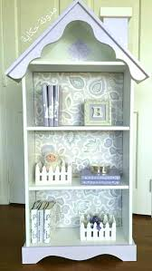 Dollhouse Bookcase Image Pottery Barn Dollhouse Bookcase