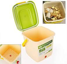 dilibee 9l garten mülleimer komposter umweltfreundlich recycling garten blätter abfall kompostbehälter küchenkomposter starterset komposter küche 4 6