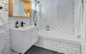 beveled subway tile shower choice image tile flooring design ideas