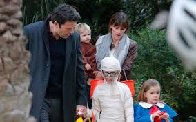 Kelly Ripa Halloween Skit by Celebs Halloween With Kids Ftr Jpg