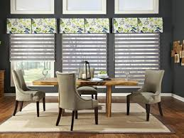 Dining Room Windows Formal Window Treatments Living Treatment Ideas