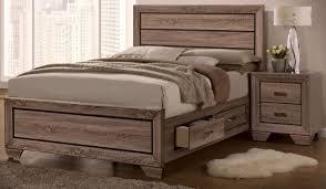 Platform Bedroom Set by Kauffman King Platform Bedroom Set With Storage 204190ke Dallas