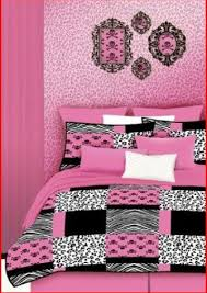 hot zebra and pink bedroom ideas and accessories