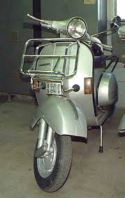 Cuppini Front Rack Large Chrome Vintage Vespas Stella