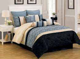 Black Queen forter Black Bedding California King Beds Image