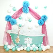 Spa Themed Party Decorations Ideas Little Birthday Express 1