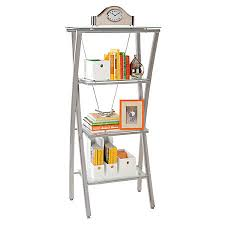 Realspace Zentra Bookcase SilverClear by fice Depot & ficeMax