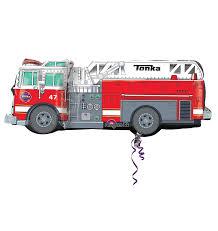 100 Tonka Truck Birthday Party Supplies Amazoncom Fire Supershape 35 Inch X 13 Inch Mylar