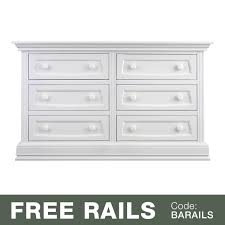 Target Delta 6 Drawer Dresser by Baby Appleseed Davenport 6 Drawer Double Dresser In Coco Free Shipping