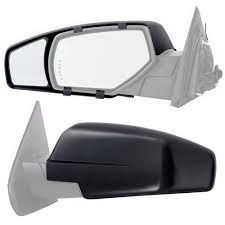 Snap & Zap Clip-on Towing Mirror Set For 2014 - 2018 Chevrolet ... Semi Truck Mirror Exteions Elegant 2000 Freightliner Century Class Mir04 Universal Clip On Truck Suv Van Rv Trailer Towing Side Mirror Curt 20002 Passenger Side Towing Extension Extenders Fresh Amazon Polarized Sun Visor Extender For Best Mirrors 2018 Hitch Review Awesome Exterior Body Cipa Install Video Youtube Want Real Tow Mirrors For Your Expy Heres How Lot Of Pics Ford View Pair Set 0408 F150 2pc Universal Clipon Adjustable