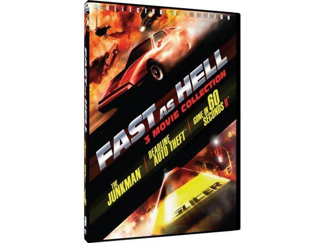 Fast as Hell: 3 Movie Collection DVD