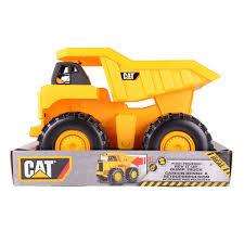 100 Yellow Dump Truck Toy State Cat LS Big Rev Up Machine