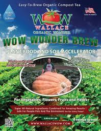 Natural Fertilizer For Pumpkins by Compost Tea Wonder Brew Organic Fertilizer Wallace Organic Wonder