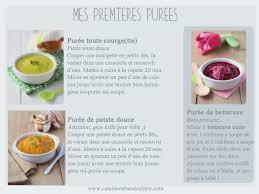 recette de cuisine pour bébé premières purées pour bébé de 4 mois cuisine en bandoulière