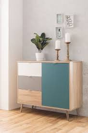 newroom kommode jona sideboard sonoma eiche modern highboard anrichte skandinavisches design wohnzimmer schlafzimmer flur esszimmer kaufen