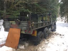 Stolen Old 5-ton Military Truck Found Abandoned In Skykomish | KOMO 5 Ton Military Truck Bobbed 4x4 Fully Auto Power Steering Coolest Vehicles Ever Listed On Ebay Page 10 Bmy M925a2 Cargo Truck With Winch Midwest What Hapened To The 7 Ton Pirate4x4com And Offroad Forum M923a2 Turbo Diesel 6x6 5ton Truck Those Guys M929 6x6 Dump Army Vehicle Youtube Scheid Diesel Extravaganza 2016 Outlaw Super Series Drag M939 5ton Addon Gta5modscom Am General M813a1 66 Vehicles For Harold A Skaarup Author Of Shelldrake Page Gr Big Customs Sundance Equipment