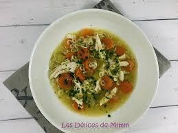 cuisiner des restes de poulet soupe de poulet avec un reste de poulet rôti les délices de mimm