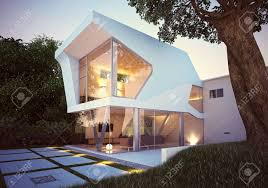 100 Modernhouse 3d Render Of Modern House Exterior