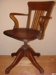 chaise de bureau antique fauteuil de bureau de type américain 1930