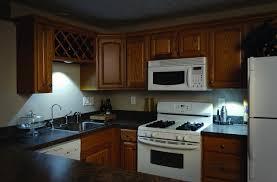 kitchen ideas counter led shelf led lighting kitchen