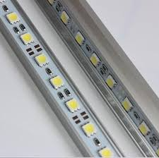 rigid aluminum led light ultra slim 12v dc 50cm smd5050 36
