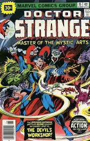 Doctor Strange 1974 2nd Series 30 Cent Variant 15