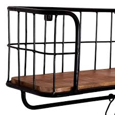 cooles industrial style regal aus recyclingholz galatea