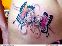 60 Awesome Free Butterfly Tattoo Designs The Meaning Of Tattoos Include Feminine Tribal And Lower Back