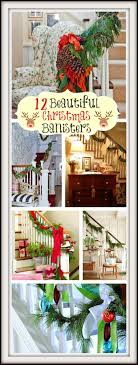Beautiful Christmas Banisters Christmas Decorating Ideas For Porch Railings Rainforest Islands Christmas Garlands With Lights For Stairs Happy Holidays Banister Garland Staircase Idea Via The Diy Village Decorations Beautiful Using Red And Decor You Adore Mantels Vignettesa Quick Way To Add 25 Unique Garland Stairs On Pinterest Holiday Baby Nursery Inspiring The Stockings Were Hung Part Staircase 10 Best Ideas Design My Cozy Home Tour Kelly Elko