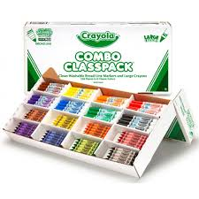 Crayola Bathtub Crayons Stained My Tub by Crayola Markers And Large Crayons Classpack 256 Count Walmart Com