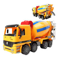100 Cement Truck Video Amazoncom Liberty Imports 14 Oversized Friction Mixer