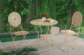 Sunjoy Sunjoy Antique-White Steel Bistro Set Patio Furniture ... 65 Best Front Yard And Backyard Landscaping Ideas Designs Lets Do Whimsical Outdoor Ding Making It Lovely A Romantic Garden Wedding Every Last Detail Stevenson Manor Upholstered Side Chair With Turned Legs By Standard Fniture At Household Club Pair Vintage Rebar Custom Painted Vegetable Back Bistro Chairs 25 Patio To Buy Right Now Carate Batik Lagoon Rounded Corners Cushion Blue 6 Montage Antiques Display Of Counter Stool Jugglingelephants
