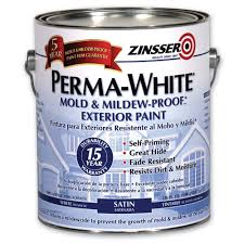 Glidden Porch And Floor Paint Sds by Zinsser 1 Gal Perma White Mold And Mildew Proof White Satin