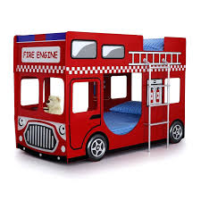 100 Fire Truck Loft Bed Bunk Single Engine Bunk