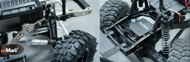 100 Komodo Truck Gmade Vs Axial SCX10 110 RC Scale Crawler Comparison