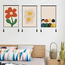 großhandel abstract wall dekorative malerei wohnzimmer sofa hintergrund schlafzimmer einfach mural mit holzrahmen fertig zum aufhängen home decor