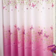 schmetterling kurze fenster vorhänge für wohnzimmer schlafzimmer vorhang schöne schmetterling fenster bildschirm vorhang für romantische mädchen