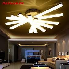 alhakin ceiling light 3 4 5 heads acrylic led laras de techo