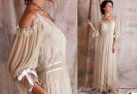 Modern Vintage Wedding Dresses With Short Iris