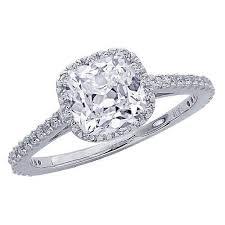 115 Carat GIA Certified Cushion Cut Shape Gorgeous Halo Style Diamond Engagement Ring Vintage
