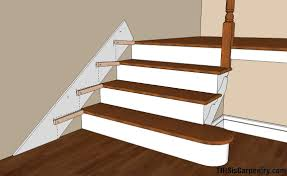 Tile Stair Nosing Trim by Scribing Skirt Boards Thisiscarpentry