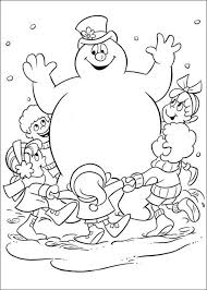 Welcome To Frosty The Snowman Coloring Pages We Has Created A Chilly Selection Of Printable