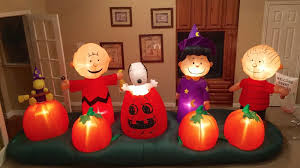 Halloween Airblown Inflatable Lawn Decorations by Image Gemmy Prototype Halloween Peanuts Scene Inflatable