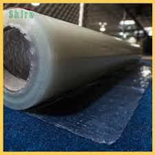 Fire Retardant Carpet Masking Film Plastic Protector Roll 20MIC Thick