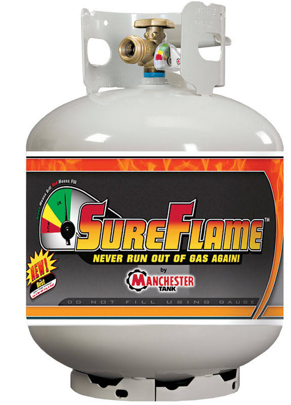 Manchester Sureflame Opd Cylinder With Gauge