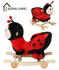 Lady Bug 2 In 1 Baby Rocking Chair Kids Ride On Animal Musical Toy (TOY0163) Amazoncom Kids Teddy Bear Wooden Rocking Chair Red Delta Children Cars Lightning Mcqueen Mmax 3 In 1 Korakids Red Portable Toddler Rocker For New Personalized Tractor Childrens Pied Piper Toddler Great Little Trading Co Fisher Price Baby Chair Horse Baby On Clearance 23 X 14 22 Rideon Toys Whandle Plush Rideon Deer Gift Little Cute Haired Boy Sits Astride A Rocking Horse Pads Cushions Chairs Carousel Adirondack Starla Child Cotton