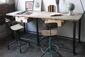 bureau design industriel bureau industriel poste de travail metal et bois