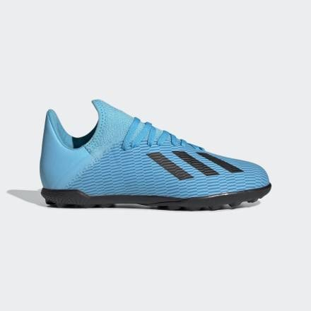 Adidas x 19.3 Turf Shoes Bright Cyan 3.5 Kids - Soccer Cleats